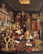 Johann Zoffany Charles Towneley in his Sculpture Gallery china oil painting reproduction