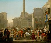Johannes Lingelbach Carneval in Rom china oil painting reproduction