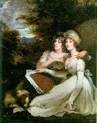 John Hoppner Portrait of the Frankland Sisters china oil painting reproduction