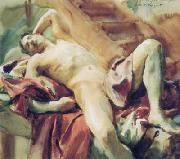 John Singer Sargent ritratto di Nicola D Inverno china oil painting reproduction