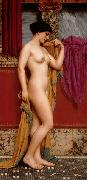 John William Godward In the Tepidarium china oil painting reproduction