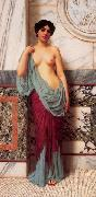 John William Godward At the Thermae china oil painting reproduction