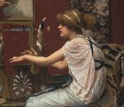 John William Godward Erato at Her Lyre china oil painting reproduction