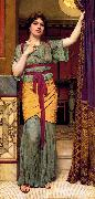 John William Godward A Pompeian Lady china oil painting reproduction