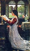 John William Waterhouse The Missal china oil painting reproduction