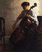 Joseph Decamp The Cellist china oil painting reproduction