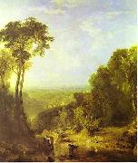 Joseph Mallord William Turner Crossing the Brook by J. M. W. Turner china oil painting reproduction