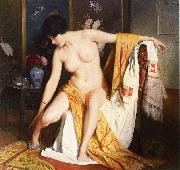 Julius L.Stewart Nude in an Interior china oil painting reproduction