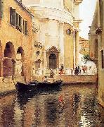 Julius L.Stewart Rio della Maddalena china oil painting reproduction