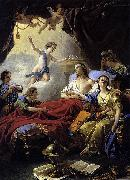 Louis Jean Francois Lagrenee Allegory on the Death of the Dauphin china oil painting reproduction