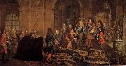 Louis XIV s Louis XIV. empfangt den Dogen von Genua in Versailles china oil painting reproduction