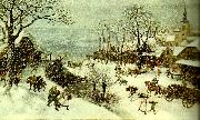 Lucas van Valckenborch vinter china oil painting reproduction