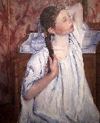 Mary Cassatt Girl Arranging Her Hair china oil painting reproduction