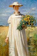 Michael Ancher Anna Ancher china oil painting reproduction