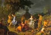 Michel-Ange Houasse Bacchanal china oil painting reproduction