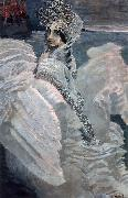 Mikhail Vrubel Swan princess. china oil painting reproduction