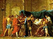 Nicolas Poussin la mort de germanicus china oil painting reproduction