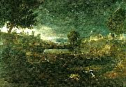 Nicolas Poussin landscape with pyramus and thisbe china oil painting reproduction