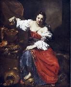 Nicolas Regnier Allegory of Vanity china oil painting reproduction