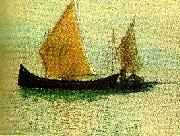 Odilon Redon segelbatar i venedig china oil painting reproduction