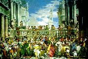 Paolo  Veronese marriage fest at cana china oil painting reproduction