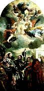 Paolo  Veronese christ with zebedee's wife and sons china oil painting reproduction