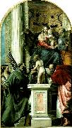 Paolo  Veronese holy family with ss china oil painting reproduction