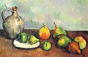 Paul Cezanne Stilleben Krug und Fruchte oil painting picture wholesale