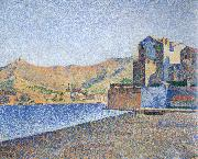 Paul Signac town beach collioure opus oil painting picture wholesale