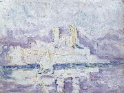 Paul Signac morning mist oil painting picture wholesale