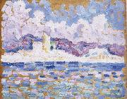 Paul Signac morning oil painting picture wholesale
