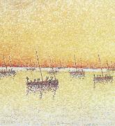 Paul Signac sardine fisbing oil painting picture wholesale