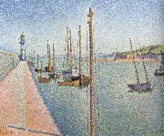 Paul Signac masts portrieux opus oil painting picture wholesale