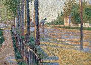 Paul Signac the jun ction at bois colombes opus 130 oil painting picture wholesale