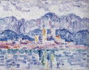 Paul Signac gray weather oil painting picture wholesale