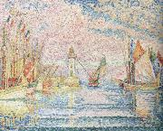 Paul Signac lighthouse oil painting picture wholesale