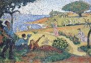 Paul Signac sketch for oil painting picture wholesale