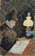 Paul Signac woman reading china oil painting reproduction
