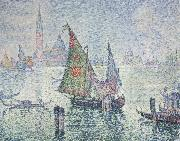 Paul Signac green sail oil painting picture wholesale