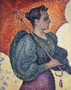 Paul Signac woman with a parasol china oil painting reproduction