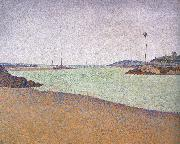 Paul Signac beacons at saint briac opus oil painting picture wholesale