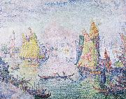 Paul Signac basin of san marco oil painting picture wholesale