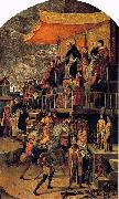 Pedro Berruguete Burning of the Heretics china oil painting reproduction