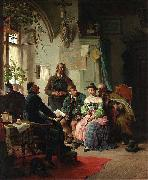 Peter Baumgartner The marriage instructions china oil painting reproduction