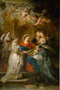 Peter Paul Rubens Ildefonso altar china oil painting reproduction