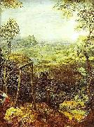 Pieter Bruegel the Elder The Magpie on the Gallows - detail china oil painting reproduction