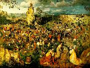 Pieter Bruegel vagen till golgata china oil painting reproduction