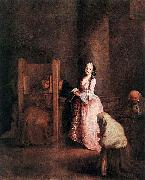 Pietro Longhi The Confession china oil painting reproduction