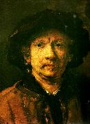 Rembrandt van rijn sjalvportratt china oil painting reproduction