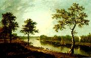 Richard Wilson the thames near twickemham china oil painting reproduction